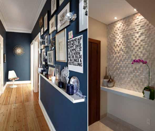 Ideias de decoração para corredores 002