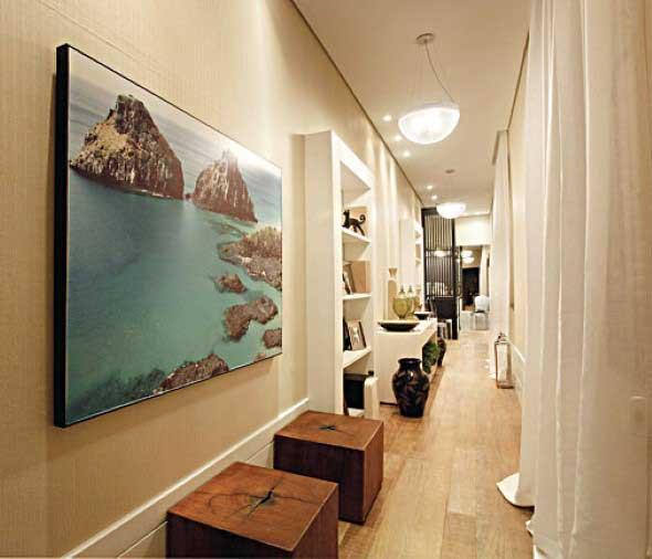 Ideias de decoração para corredores 010