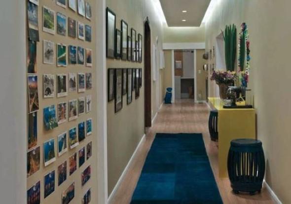 Ideias de decoração para corredores 011
