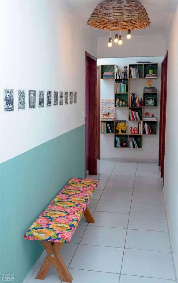 Ideias de decoração para corredores 022