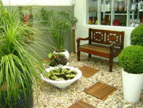 Jardins residenciais pequenos e charmosos 004