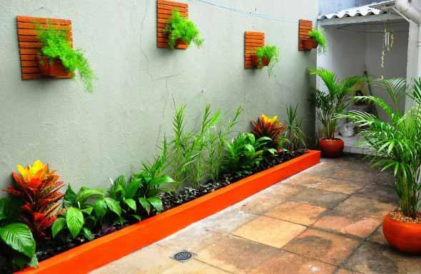 Jardins residenciais pequenos e charmosos 007