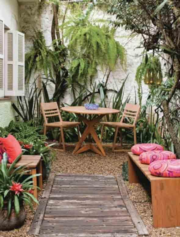 Jardins residenciais pequenos e charmosos 014