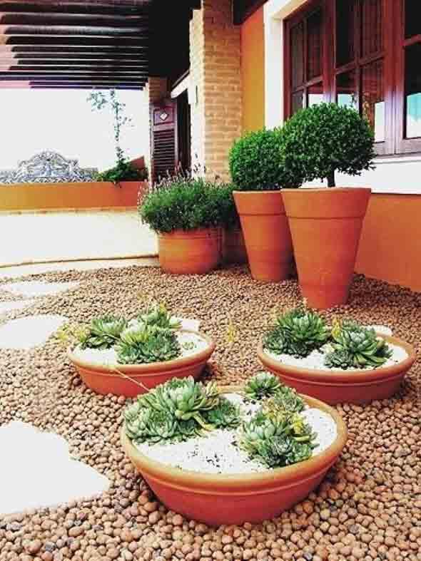 Jardins residenciais pequenos e charmosos 016
