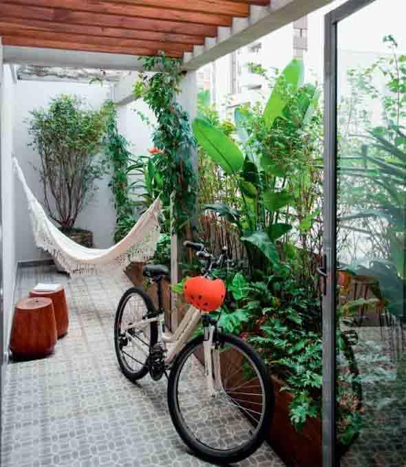 Jardins residenciais pequenos e charmosos 021