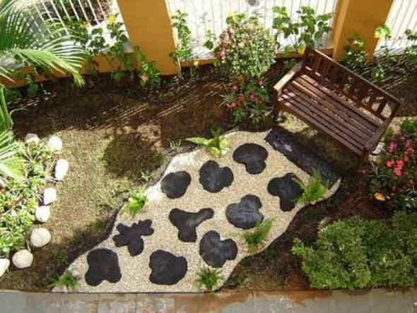Jardins residenciais pequenos e charmosos 022