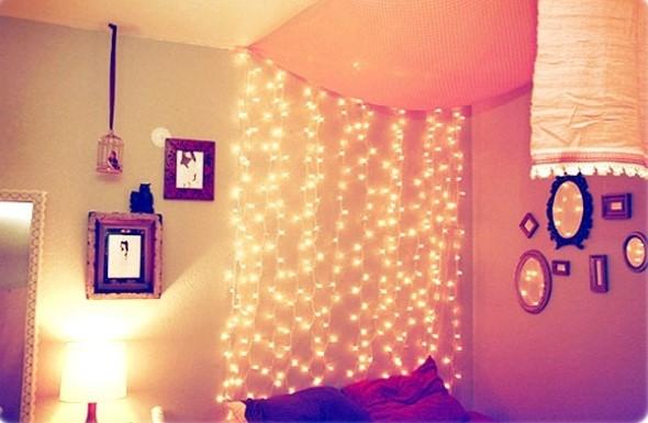 Luzes de Natal na decoração o ano inteiro 014