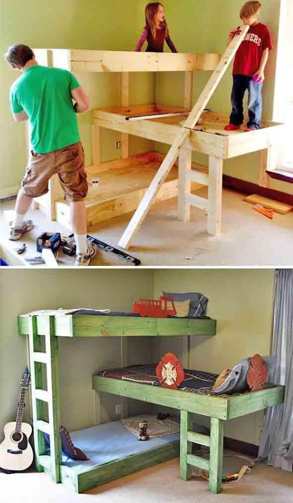Projetos para crianças com paletes de madeira 002