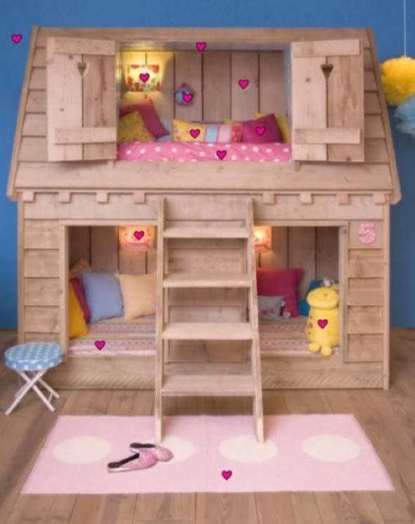 Projetos para crianças com paletes de madeira 003