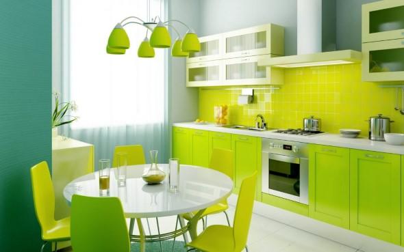 Verde na decoração 010