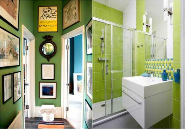 Verde na decoração 011