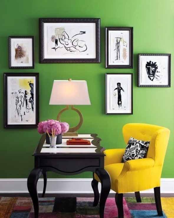 Verde na decoração 016