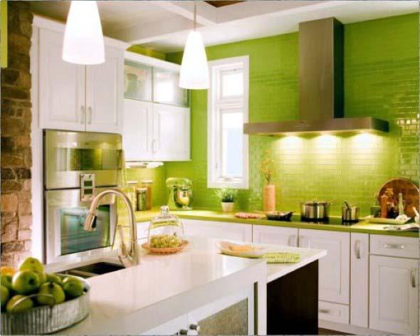 Verde na decoração 018