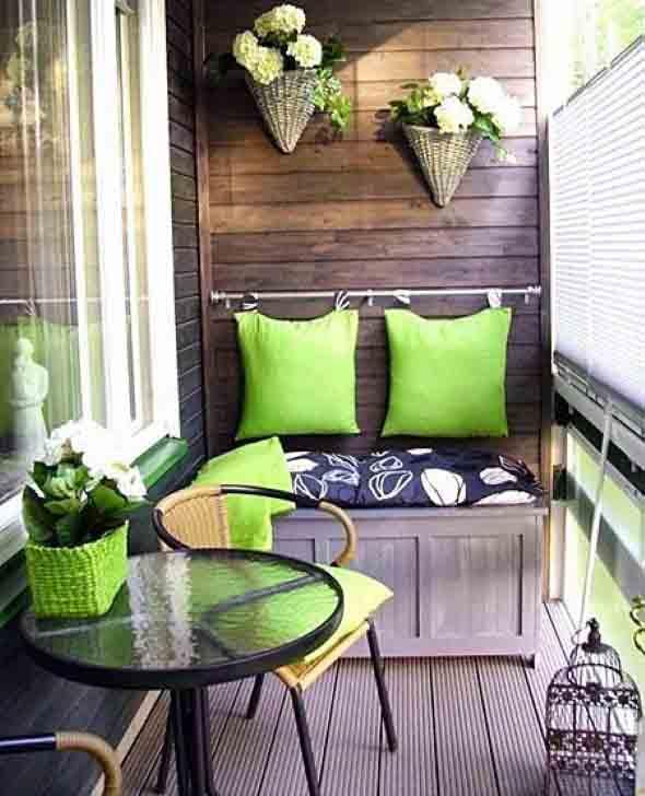 Verde na decoração 024
