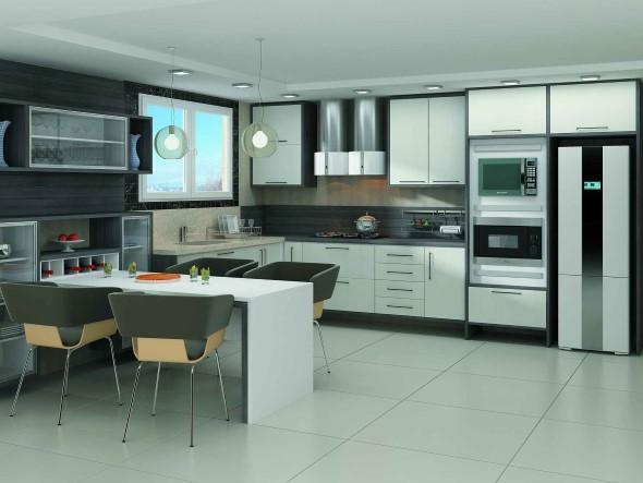 Cozinha futurista 005