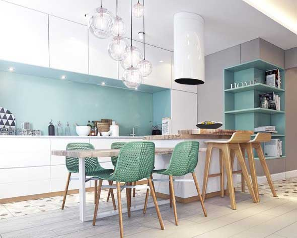 Cozinha futurista 019