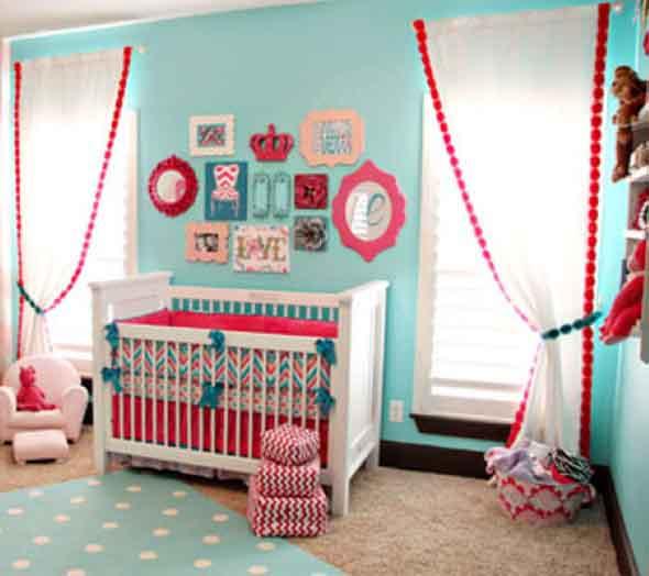 Ideias de decoração com paredes de molduras 011
