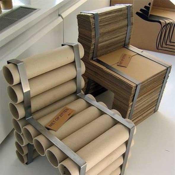 Móveis de papelão 015