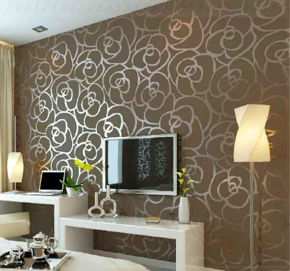 Painel adesivo na decoração 022