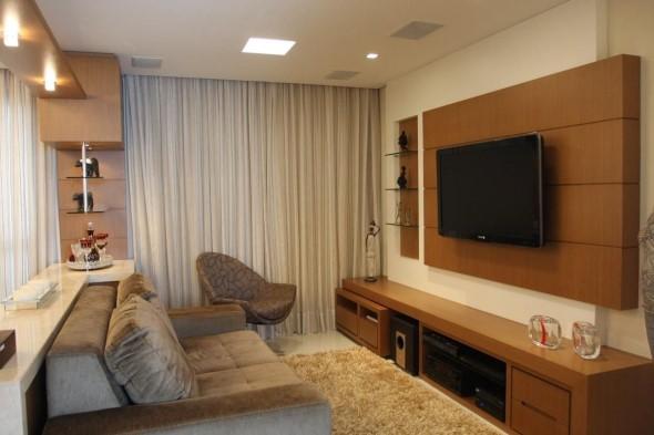 Painel de TV para sala de estar 001