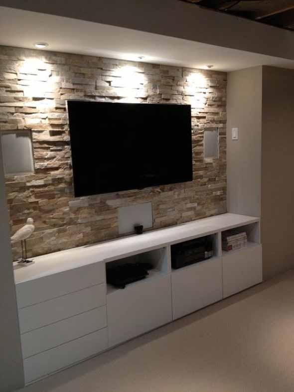 Painel de TV para sala de estar 005
