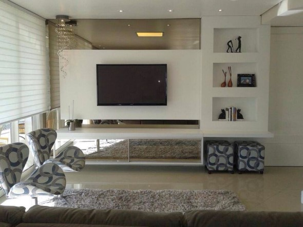 Painel de TV para sala de estar 007