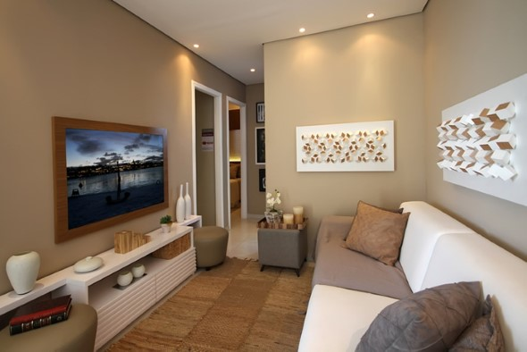 Painel de TV para sala de estar 012