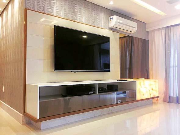 Painel de TV para sala de estar 016