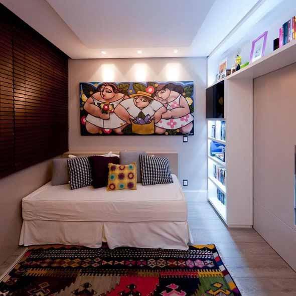 Almofadas coloridas na decoração 018