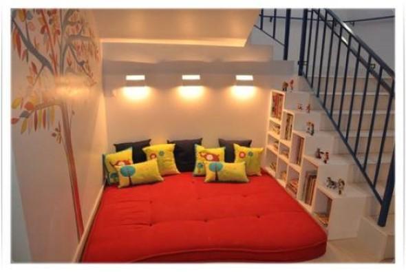 Almofadas coloridas na decoração 023
