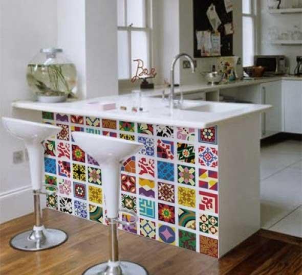 Decore sua cozinha com adesivos 003