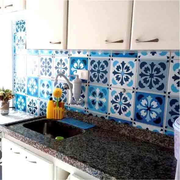 Decore sua cozinha com adesivos 014