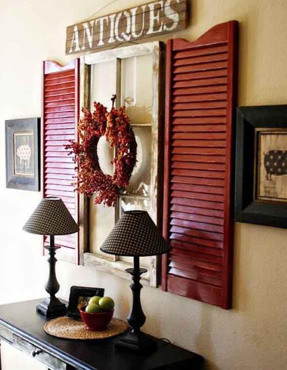 Janelas coloridas dentro de casa na decoração 010