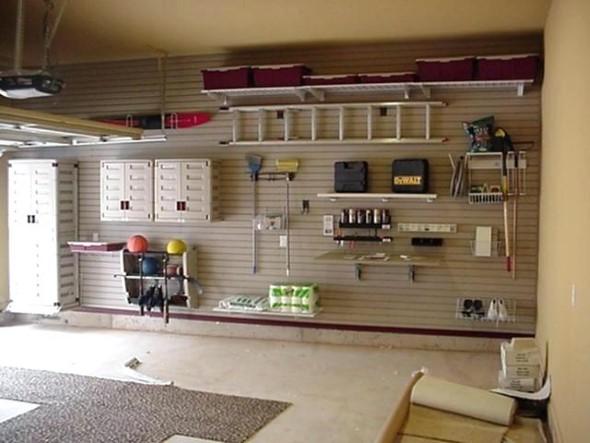 Prateleiras na garagem 006