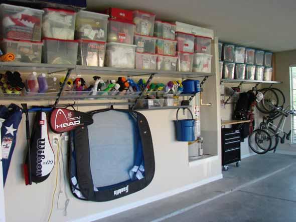 Prateleiras na garagem 008