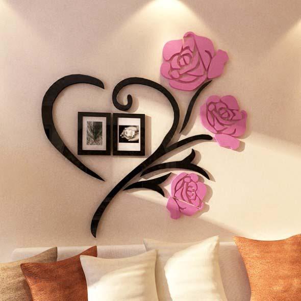Quadros de parede em 3D criativos 020