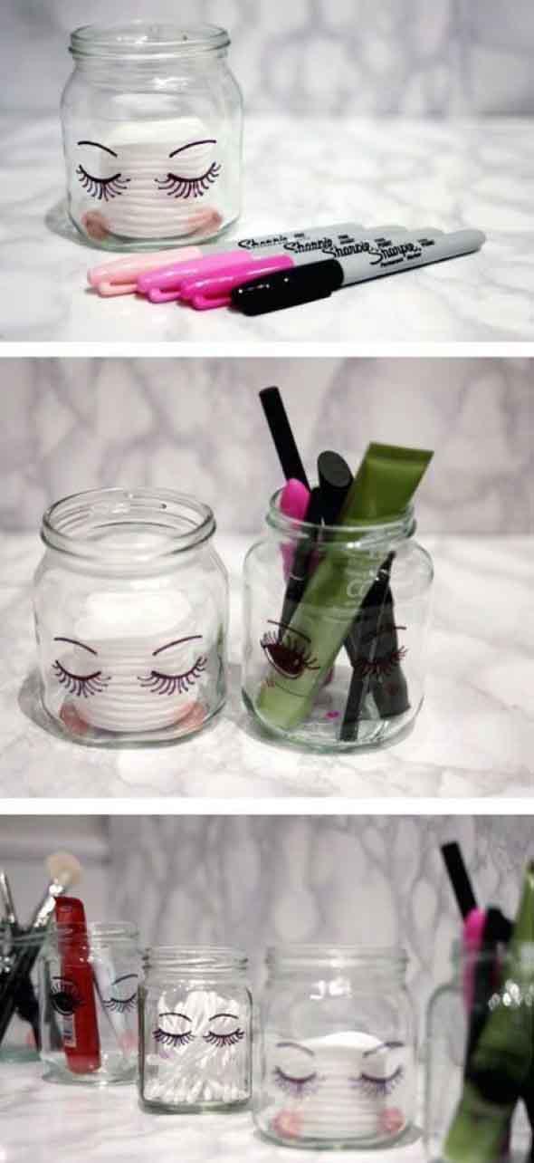 ideias decorativas com potes de vidro 001