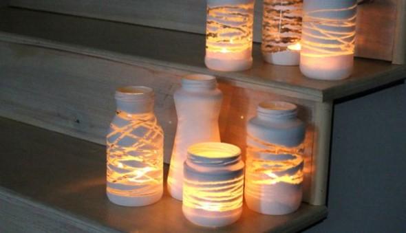 ideias decorativas com potes de vidro 003