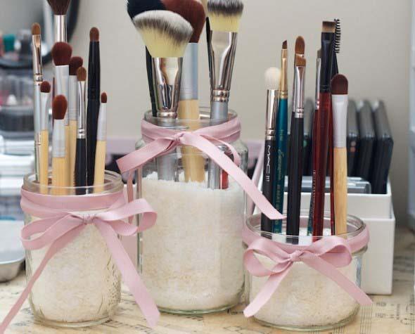 ideias decorativas com potes de vidro 010