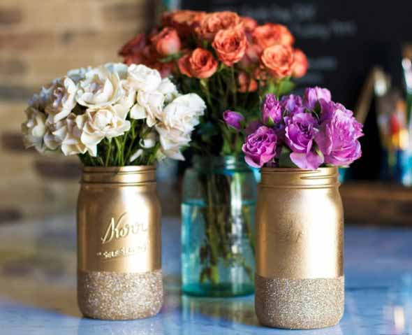 ideias decorativas com potes de vidro 011