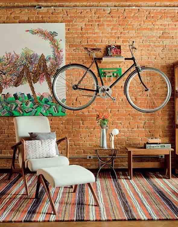 Bicicleta em casa 001