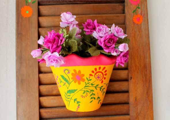 DIY - Como pintar vasos de cerâmica 008