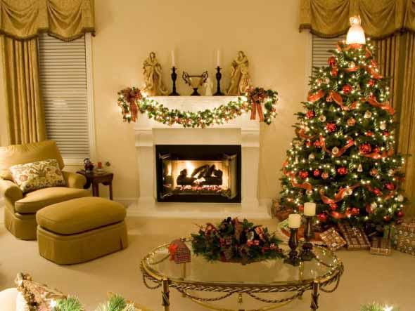 Dicas para enfeitar a lareira para o Natal 002
