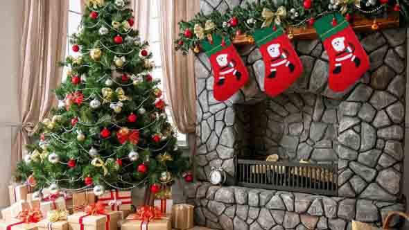 Dicas para enfeitar a lareira para o Natal 004