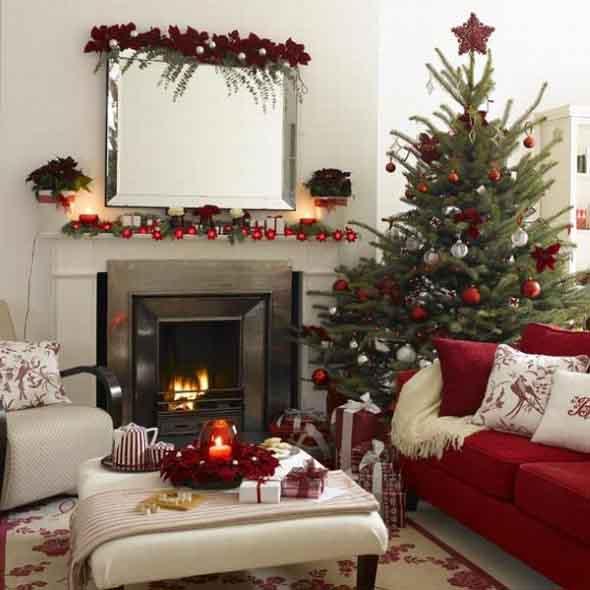 Dicas para enfeitar a lareira para o Natal 016