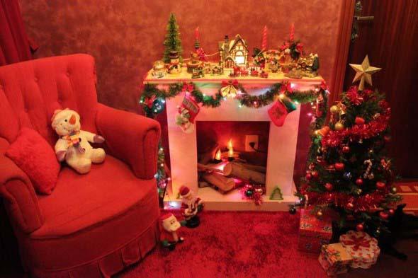 Dicas para enfeitar a lareira para o Natal 017