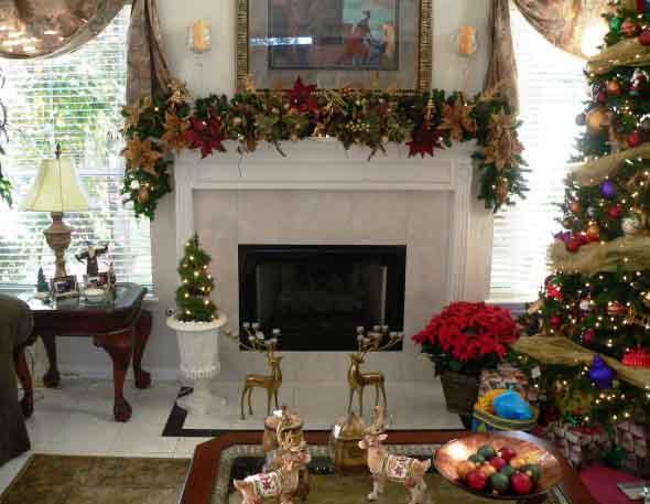 Dicas para enfeitar a lareira para o Natal 018