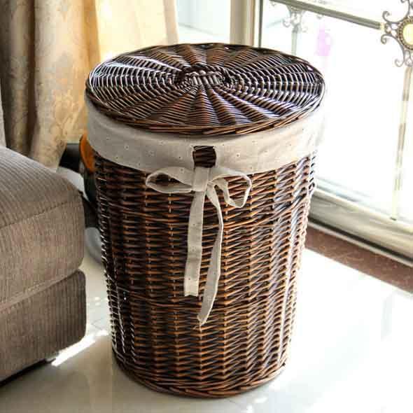 Ideias para usar cestos na decoração 021