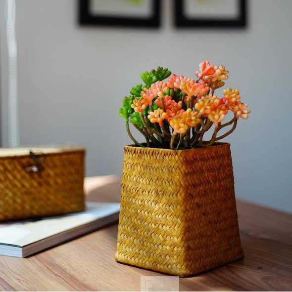 Ideias para usar cestos na decoração 024