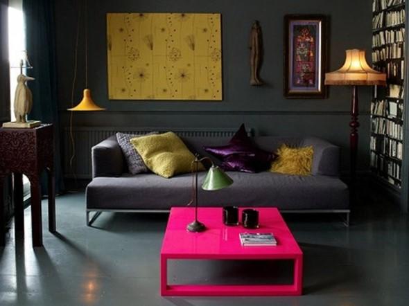 Inspire-se decorando a casa com tons de rosa 002